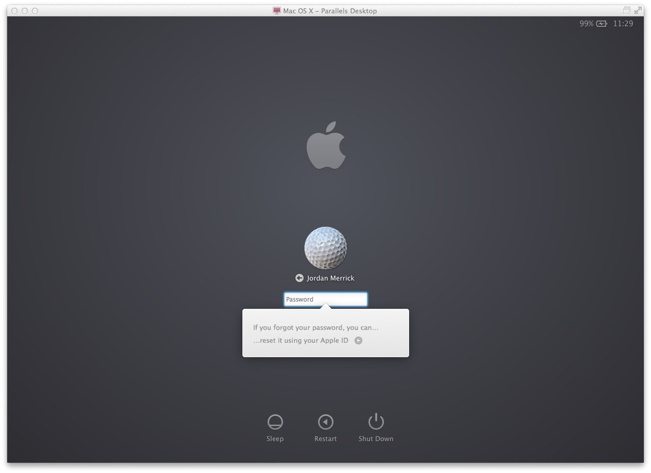Enter your password incorrectly three times and OS X will ask if youd like to reset it