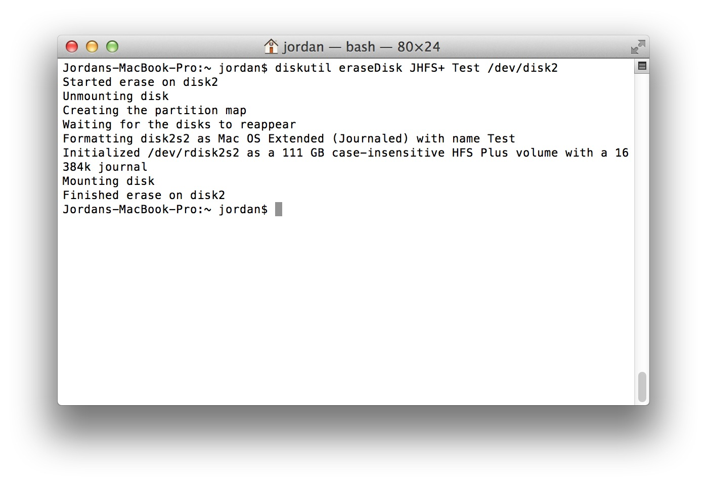 Disk Management From the Command-Line, Part 1 - The